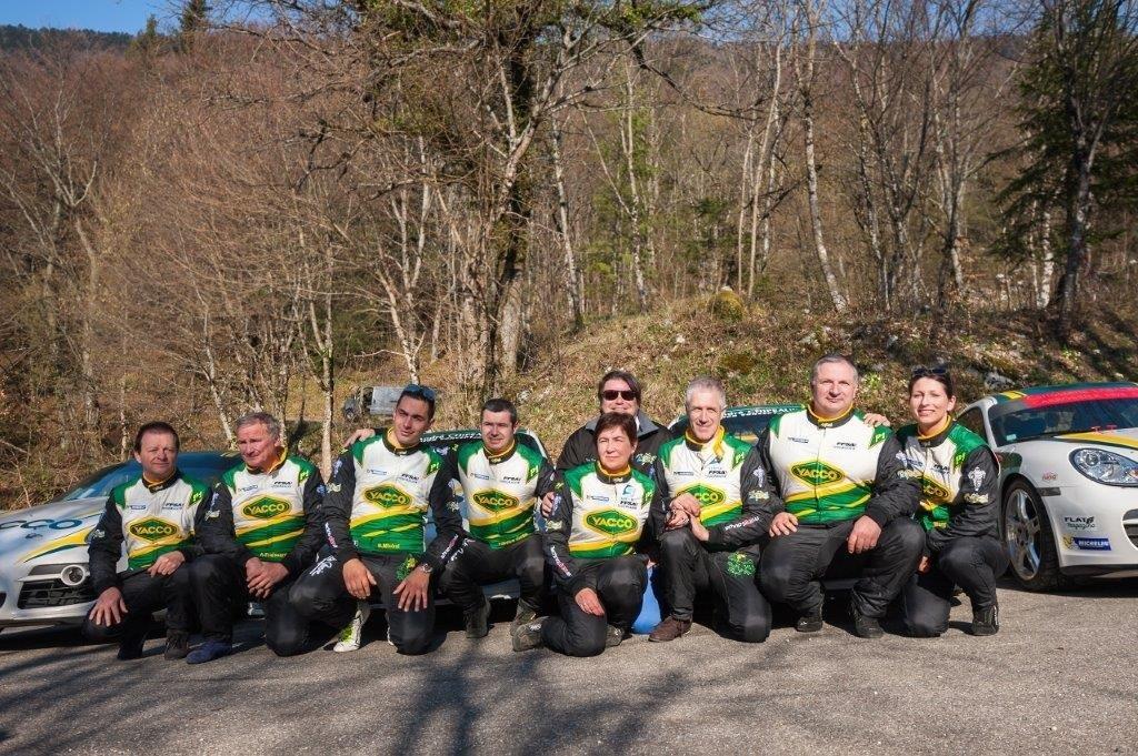 Team 2B/Yacco Essais bourget du lac