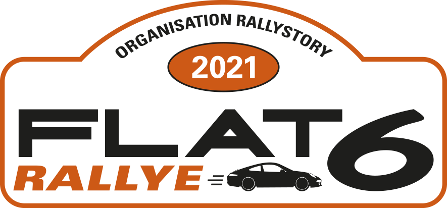 Flat 6 rallye logo