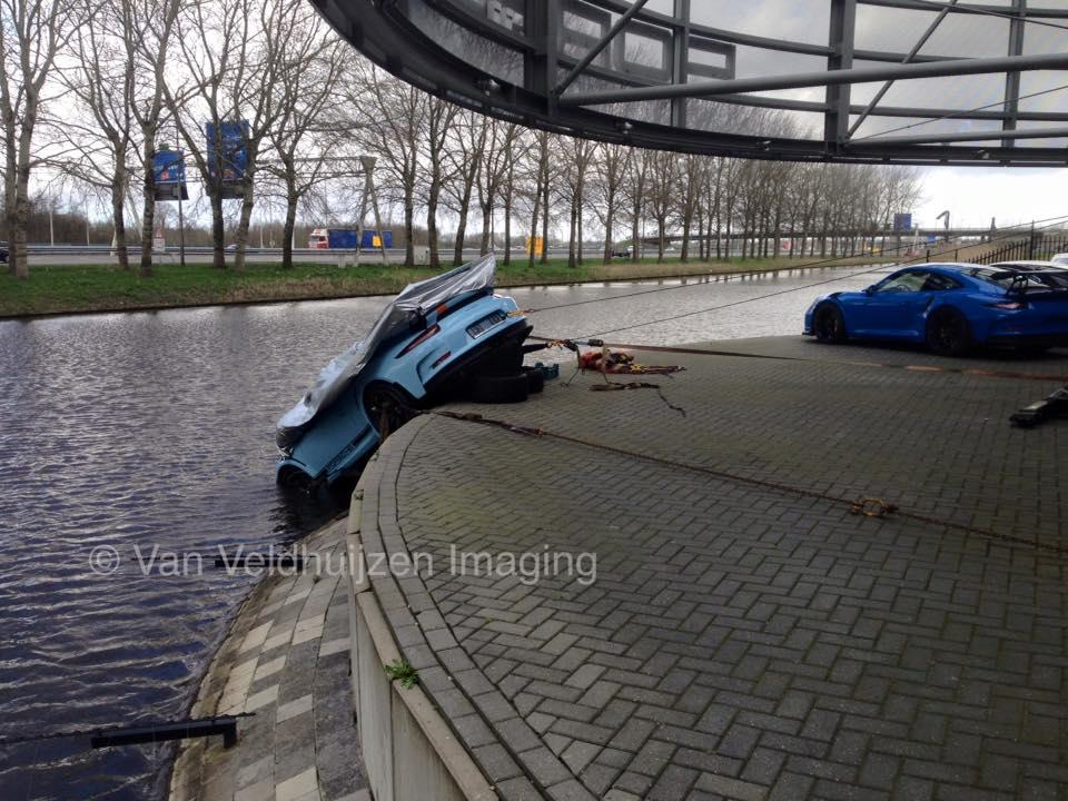 Gt3 rs crash 2