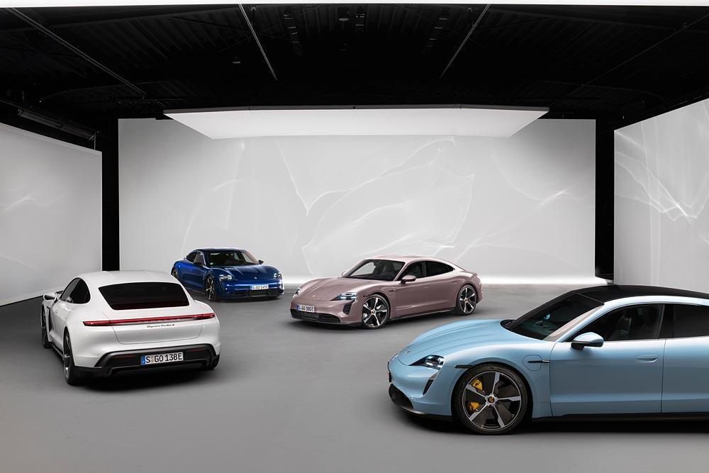 Porsche taycan modeles 1