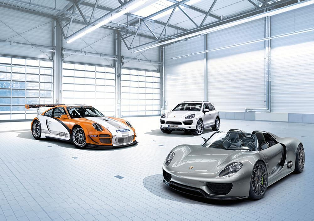 Porsche 991 gt3 r hybrid