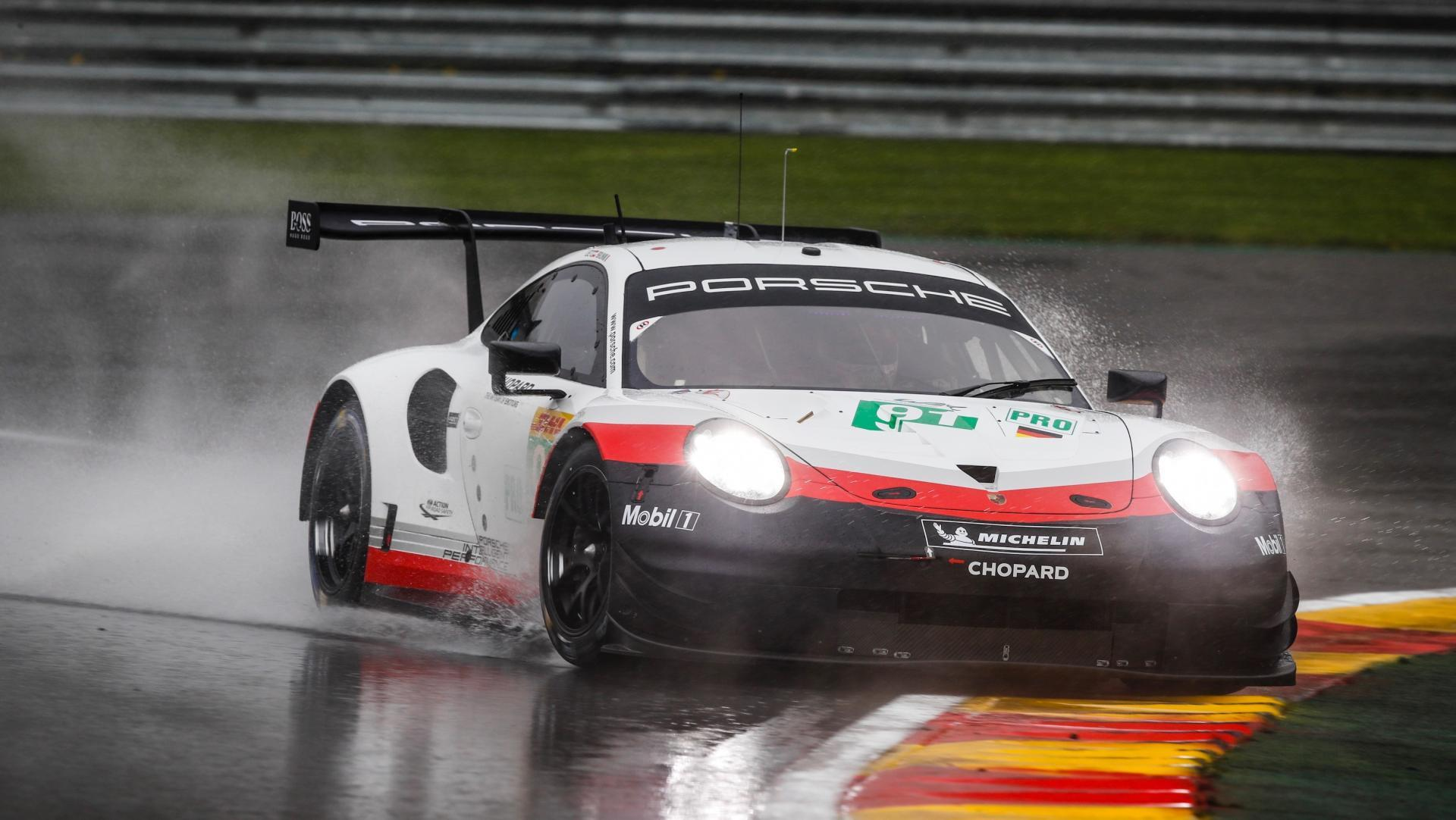 High 911 rsr qualifying fia wec spa francorchamps 2019 porsche ag
