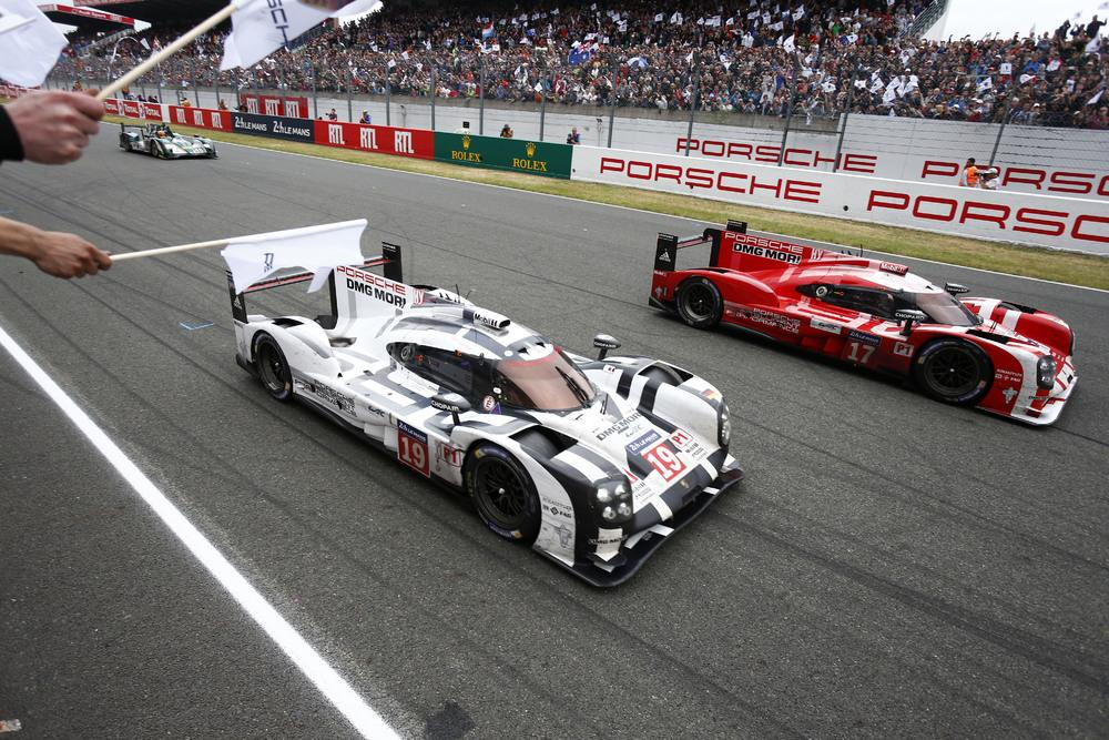 Porsche le mans 2015