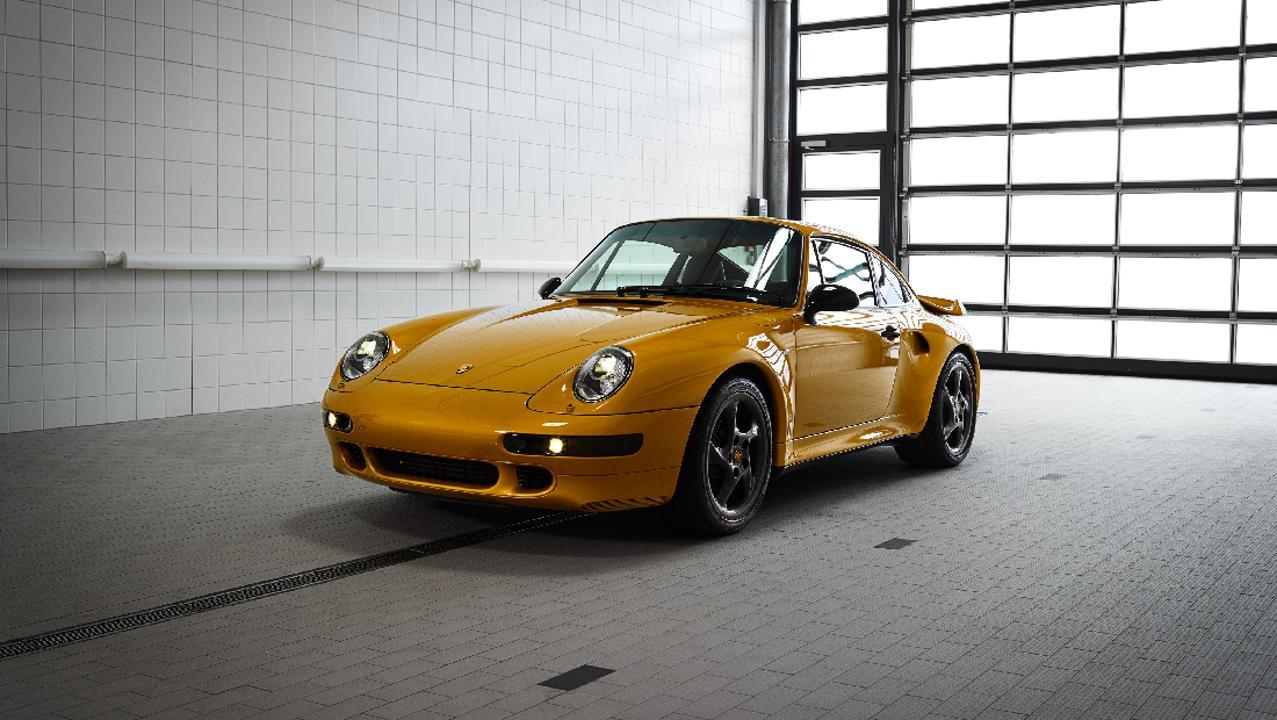 Low 993 turbo the reveal classic project gold 2018 porsche ag 2