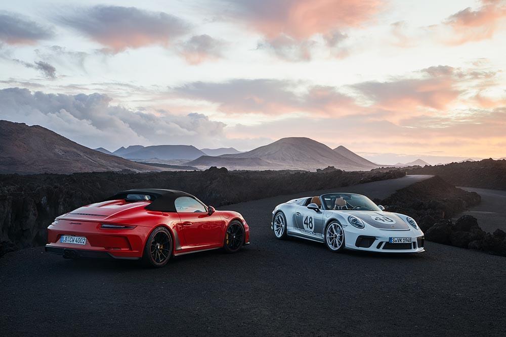 Porsche 991 speedster heritage design