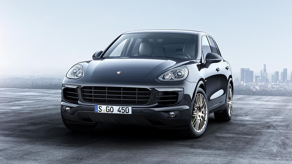 Porsche cayenne s e hybrid platinum edition avant
