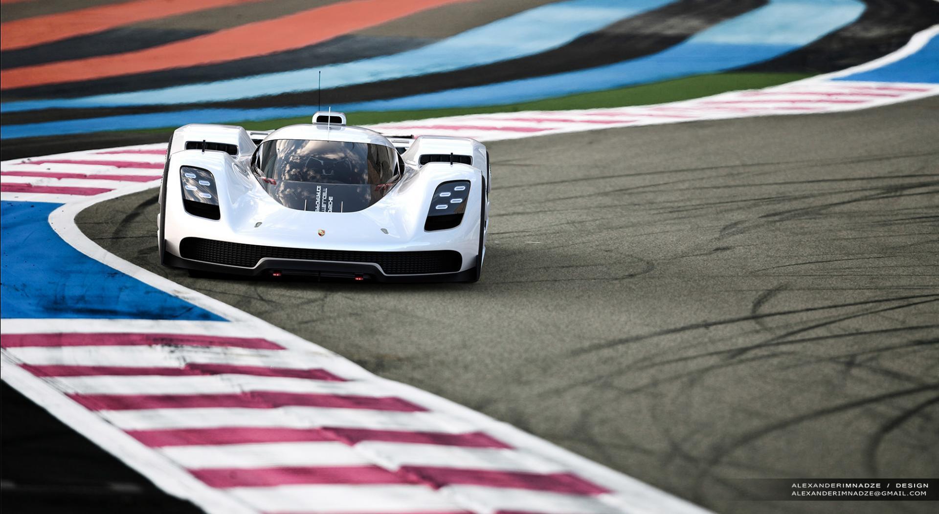 Porsche gt vision 4