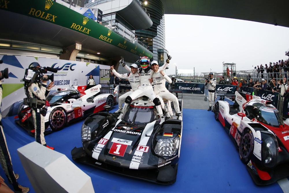 Porsche r19 webber bernhard hartley shanghai
