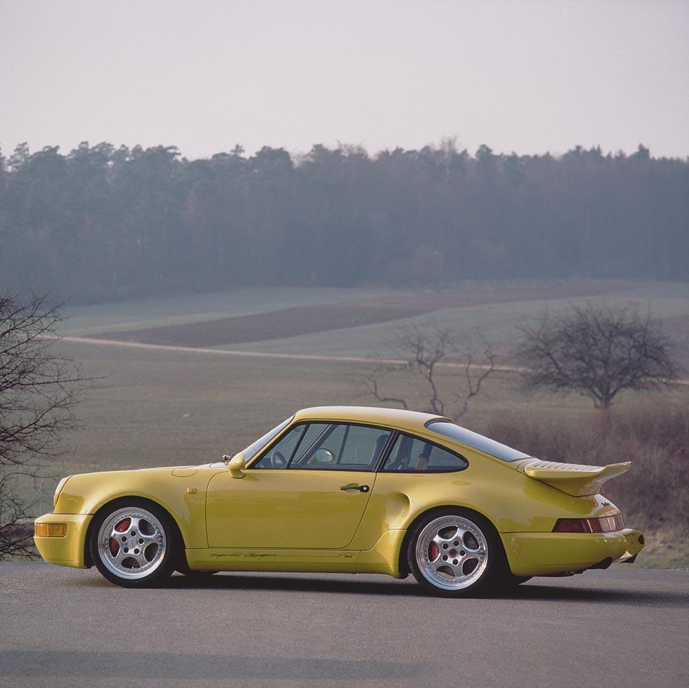 Porsche 964 turbo s leichtbau jantes speedline