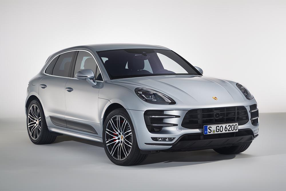 Porsche macan turbo avec pack performance 3