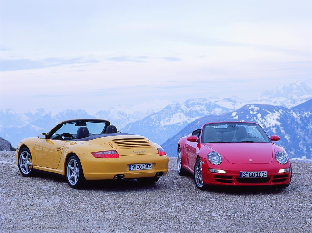 Porsche 911 997 cabriolet
