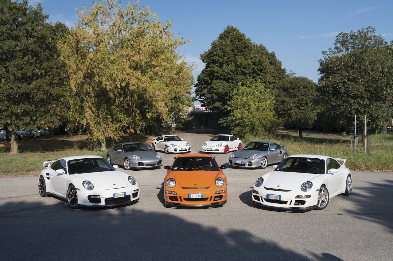 Porsches from duemila ruote