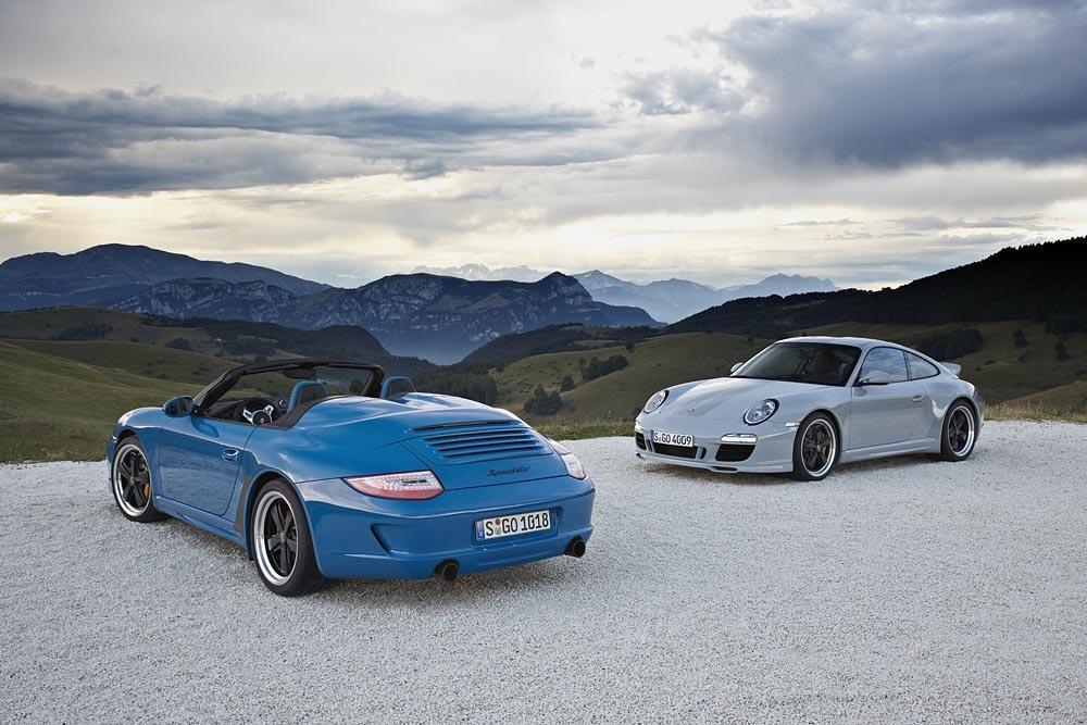 Porsche 997 sport classic speedster