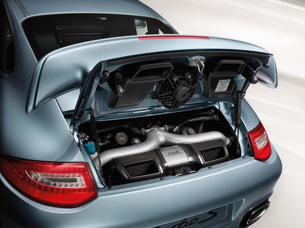 Porsche 997 turbo s engine