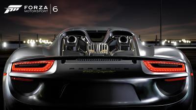 Forza porsche 918 spyder