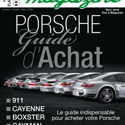 Hors série Flat 6 Magazine : Porsche 911 le guide d'achat 2008