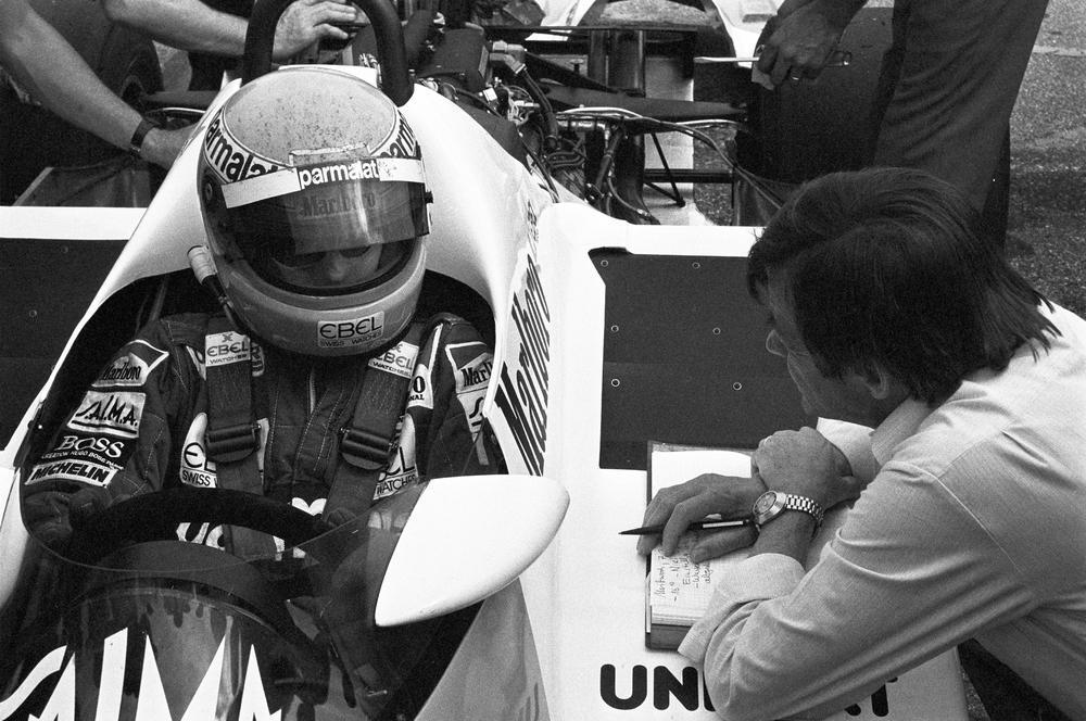 Hans mezger moteur mezger moteur tag f1 1983
