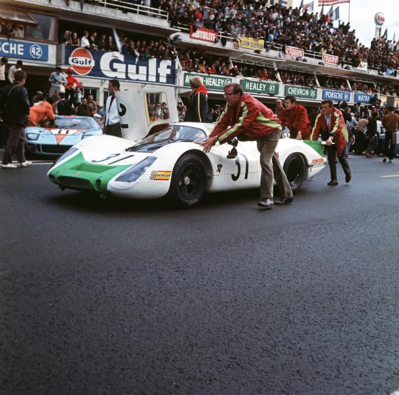 Hans mezger porsche 917 le mans 1968