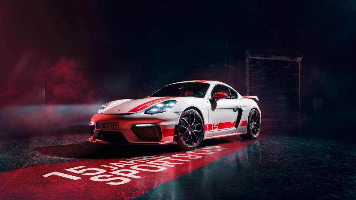 High 718 cayman gt4 sports cup edition 2019 porsche ag 3