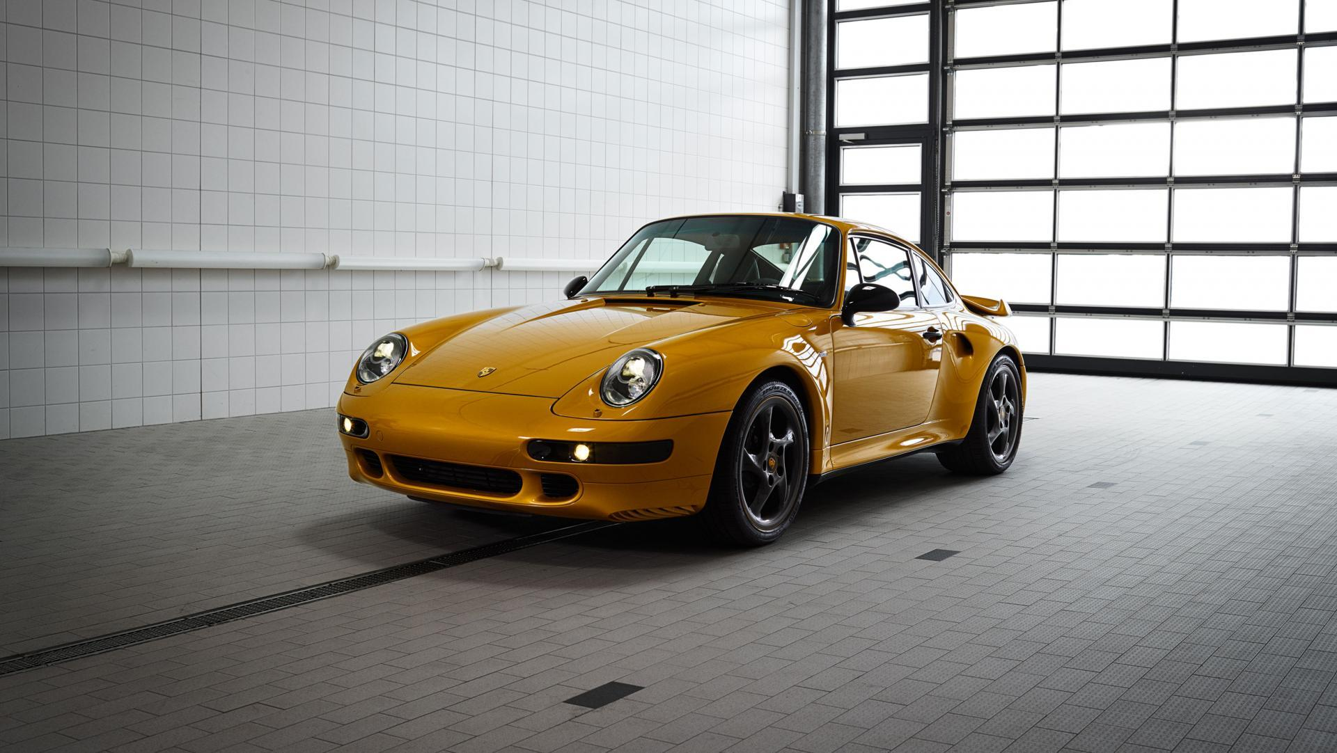 High 993 turbo the reveal classic project gold 2018 porsche ag 1