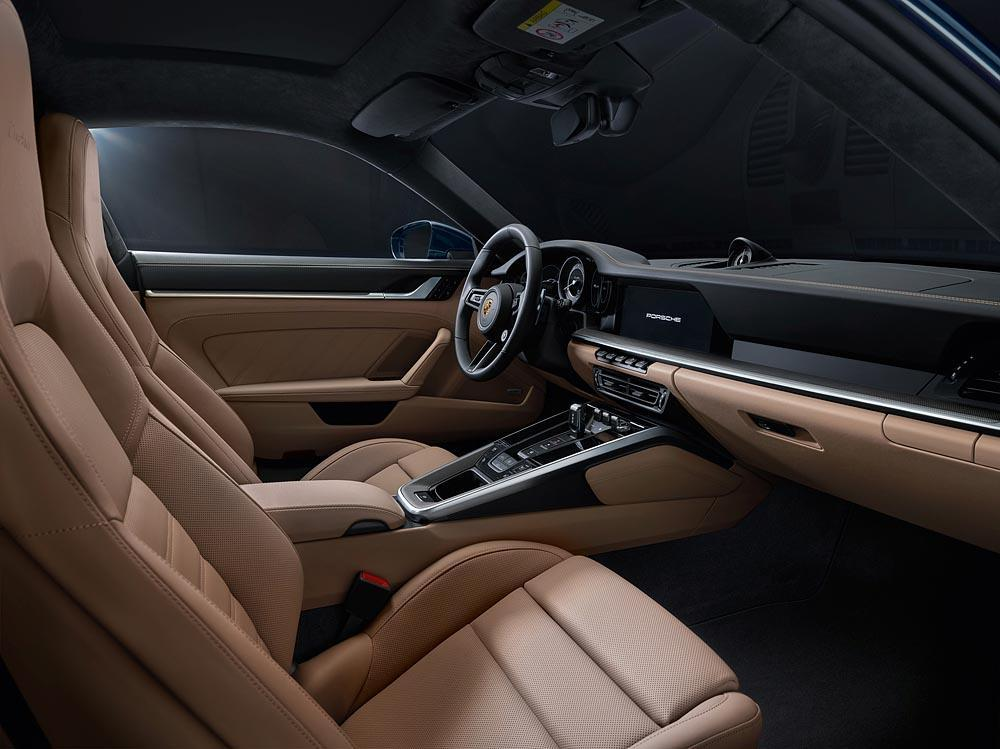 Interieur biton porsche 991 turbo