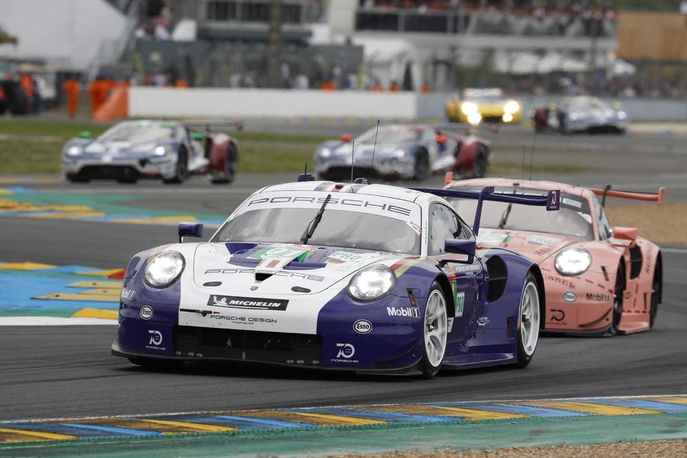 Porsche 911 RSR - 24 heures du Mans 2018