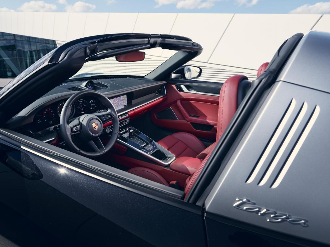 Nouvelle 992 Targa 4S intérieur