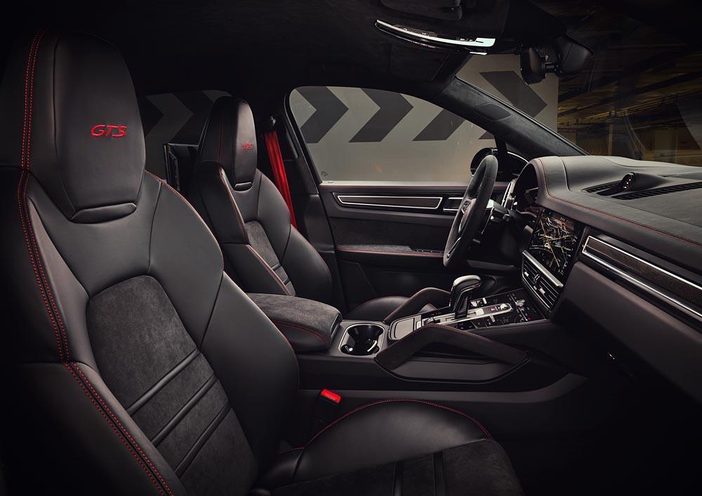 Intérieur Porsche Cayenne GTS