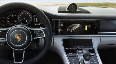 Panamera turbo s e hybrid sport turismo inside