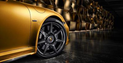 Porsche 20 inch 911 turbo carbon wheel for the 911 turbo s exclusive series