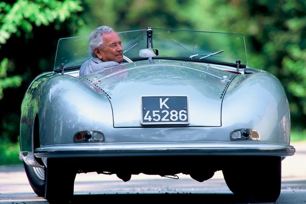 Porsche 356 n 1 arriere