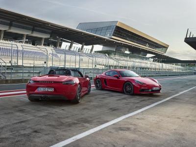 Porsche 718 boxster gts et 718 cayman gts