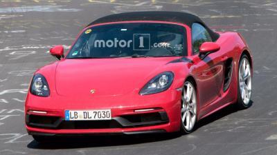 Porsche 718 boxster gts front