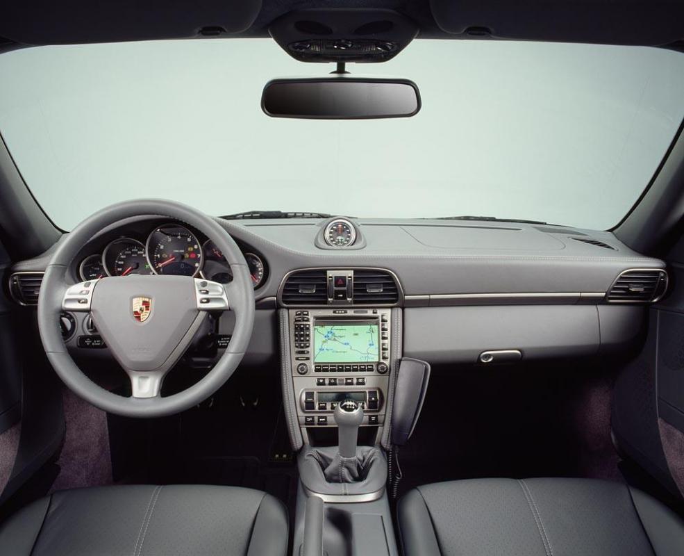 Porsche 911 997 interieur