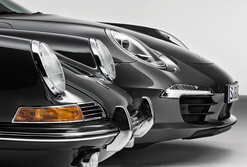 Porsche 911 et 991 slate grey