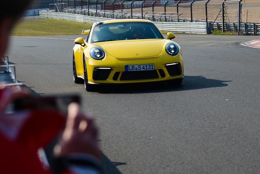 Porsche 911 gt3 nu rburgring