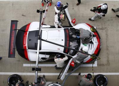 Porsche 911 rsr 91 de haut