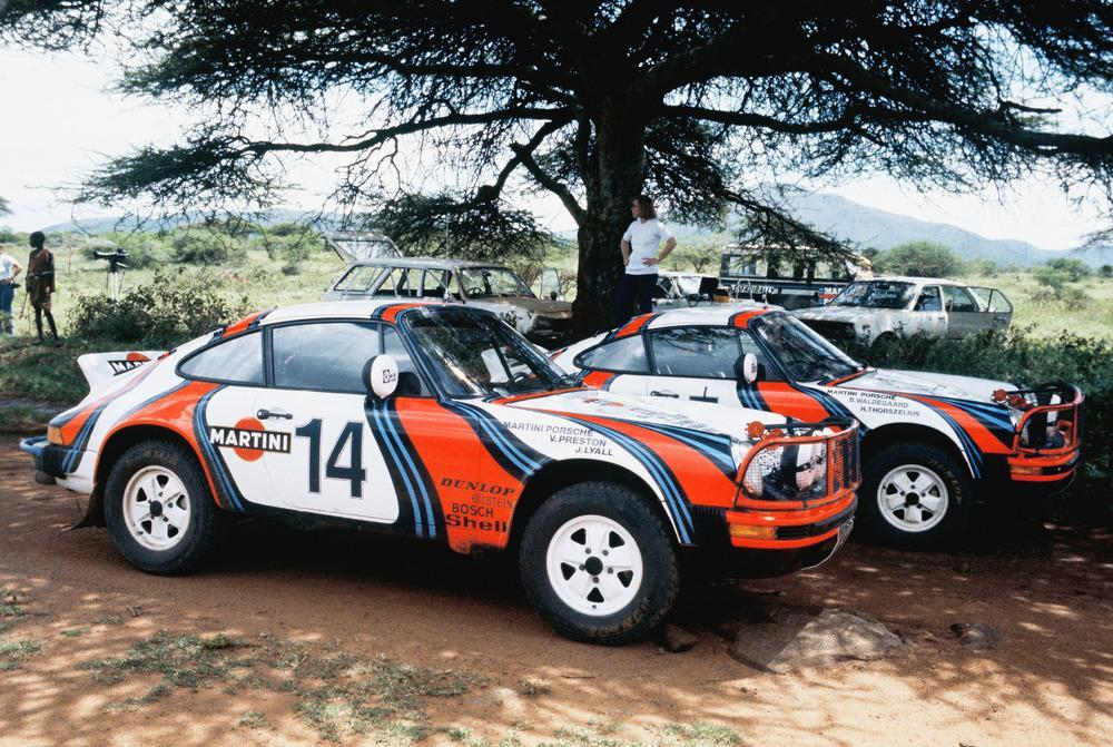 Porsche 911 sc group 4 east african safari rally