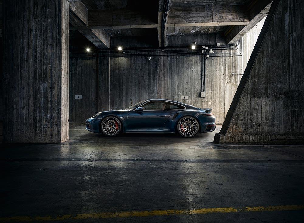 Porsche 911 turbo puissance
