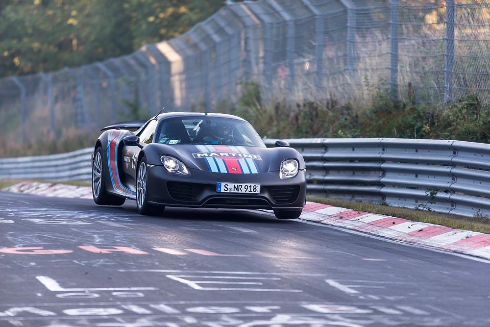 Porsche 918 spyder weissach nurburgring