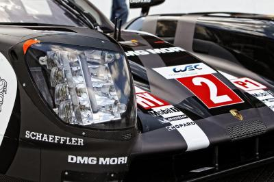 Porsche 919 hybrid new led headlights