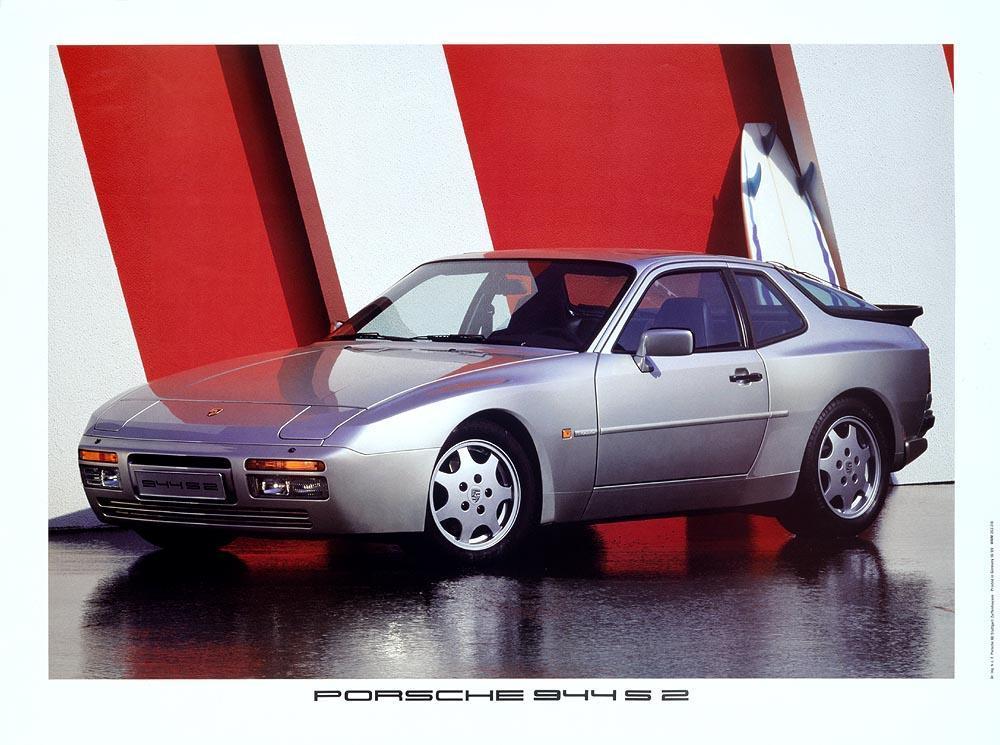 Porsche 944 s2 face gris