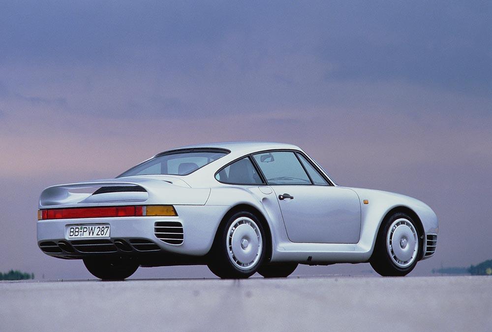 Porsche 959 arriere