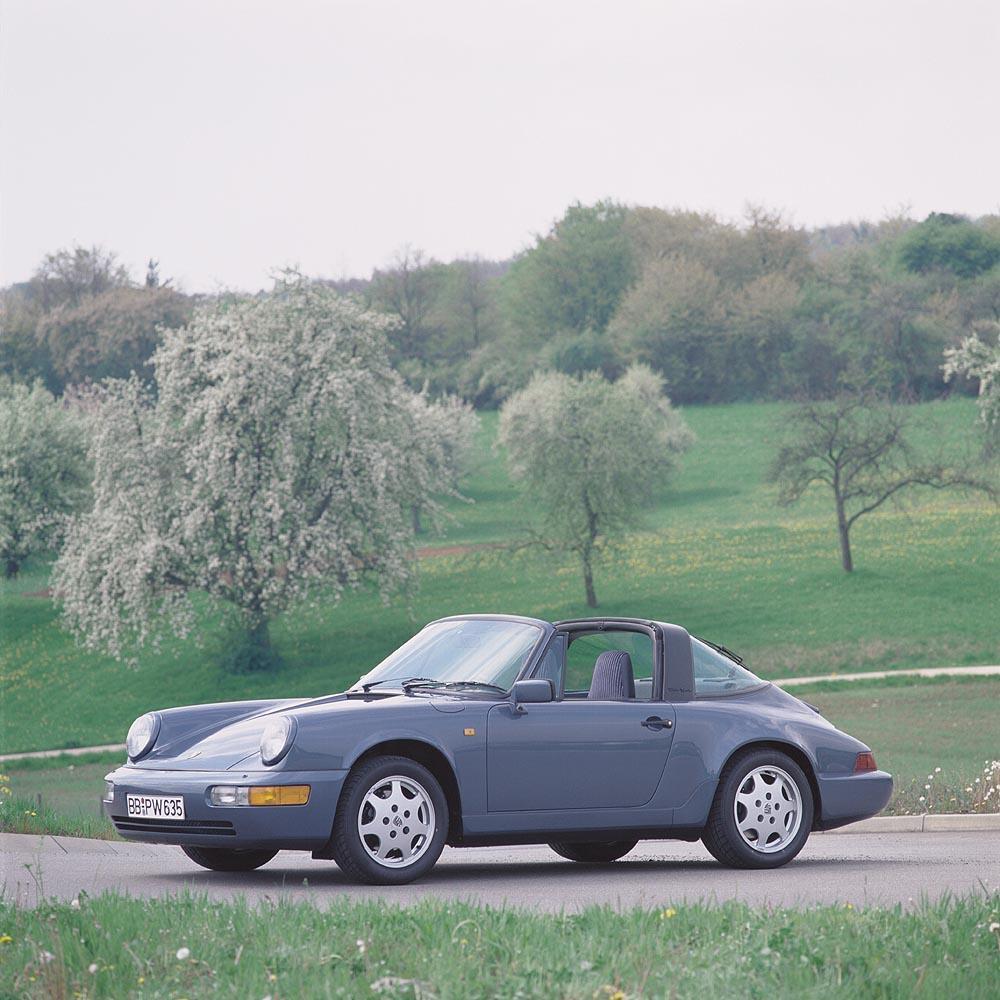Porsche 964 targa jantes speedline
