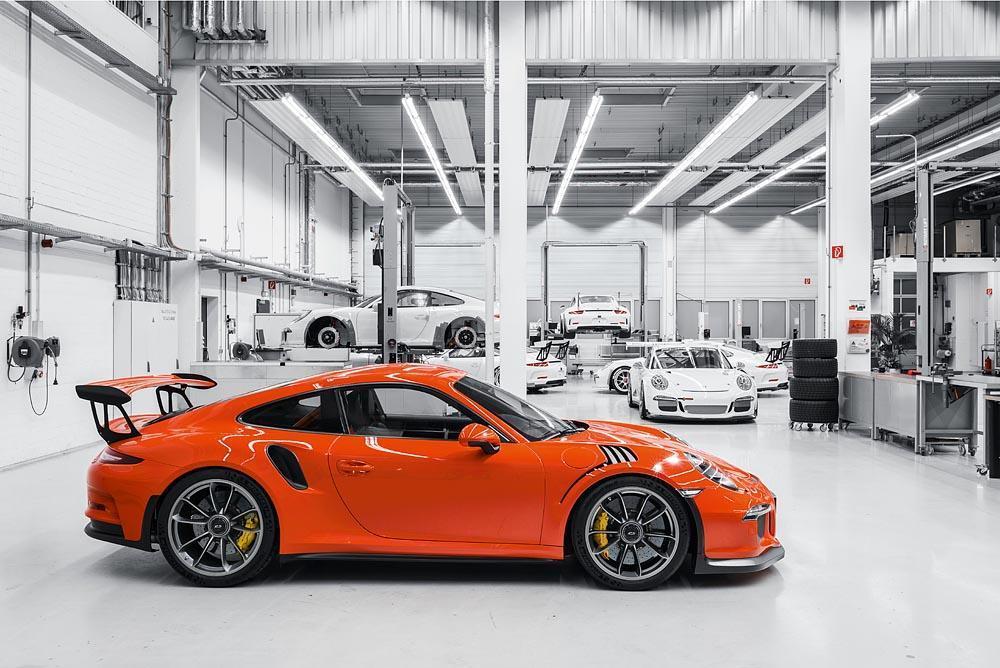 Porsche 991 gt3 rs orange fusion