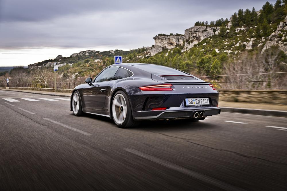 Porsche 991 gt3 touring arriere
