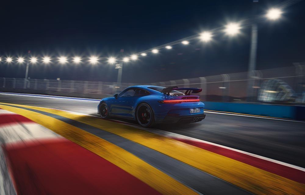 Porsche 992 gt3 arriere 1