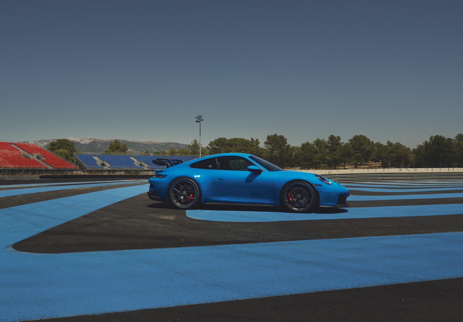 Porsche 992 gt3 circuit