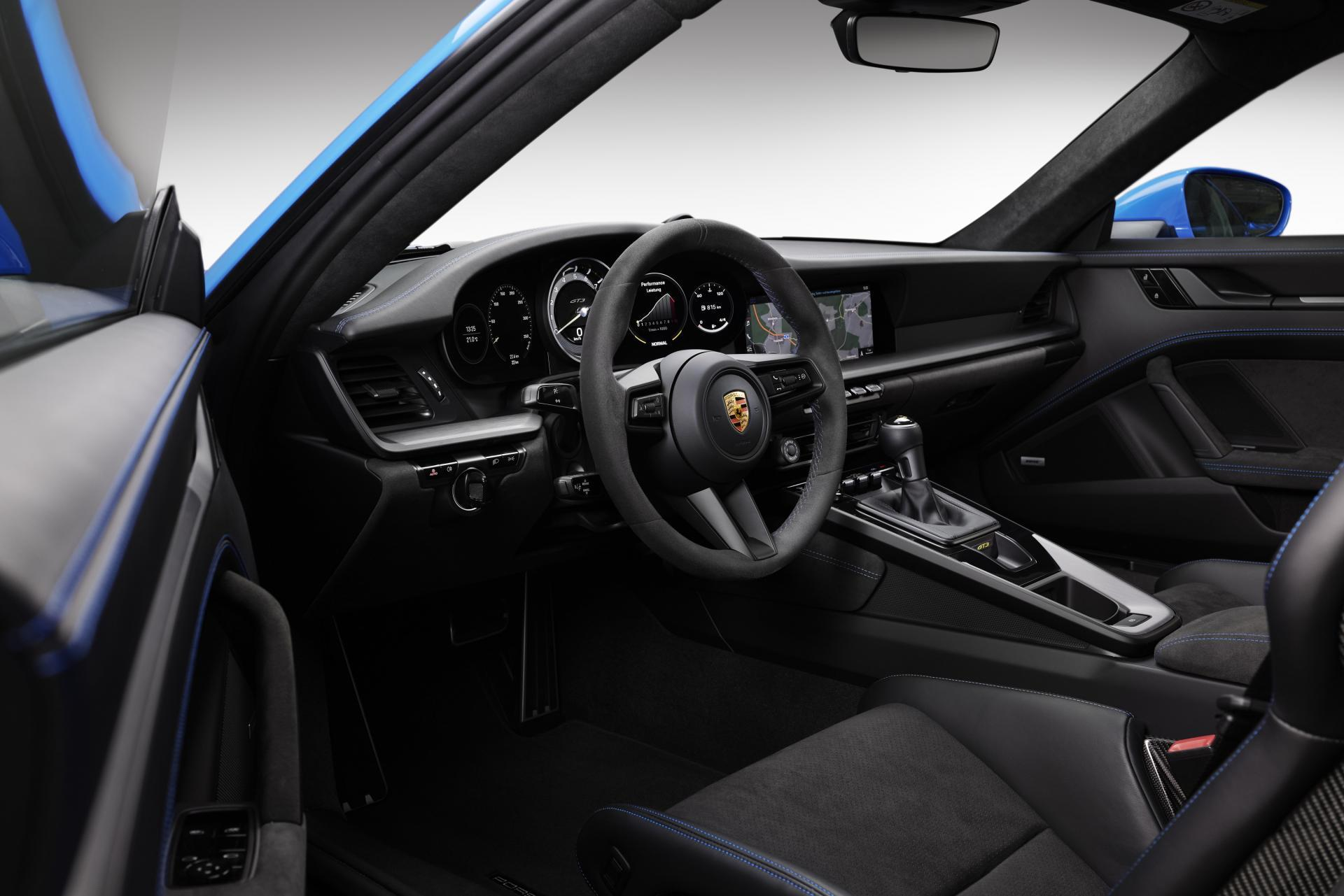 Porsche 992 gt3 interieur