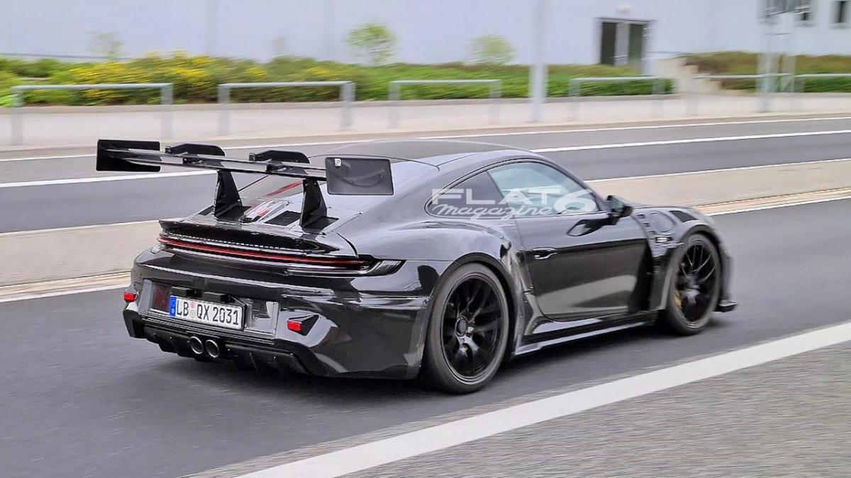 Porsche 992 gt3 rs wing